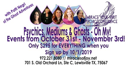 Psychics, Mediums & Ghosts - Oh My!! tickets