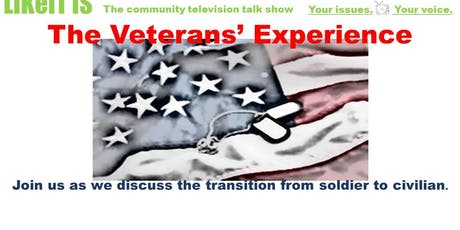 The Veteran's Experience (rescheduled) tickets
