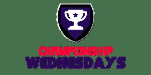 Baseball at Championship Wednesdays Free Sports League!