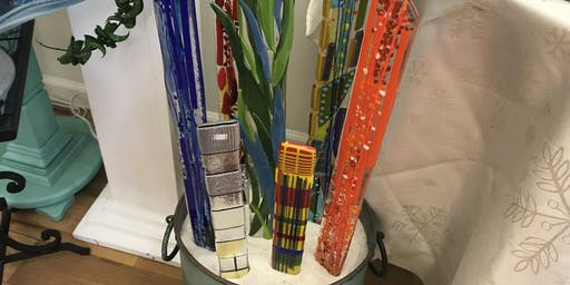Fused Glass Plant/Garden Stake Workshop