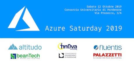 Azure Saturday 2019 biglietti