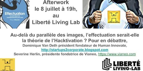 Afterwork Hacktivateurs sur l'Effectuation billets