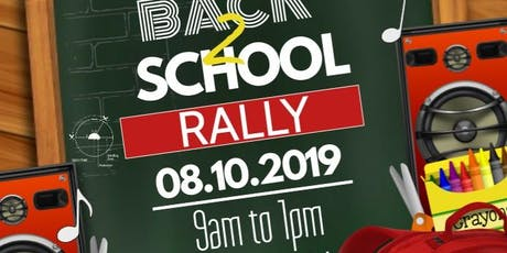 11th Annual Citywide Back to School Rally: Sponsored by NCC tickets