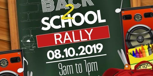 11th Annual Citywide Back to School Rally VENDOR Registration ONLY: Sponsored by NCC