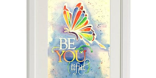 Be-YOU-tiful Butterfly