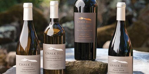 Wine Tasting with Chalk Hill Winery