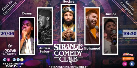 Strange Comedy Club - Stand up #54 billets