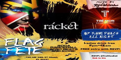 Flag Fete at Racket tickets