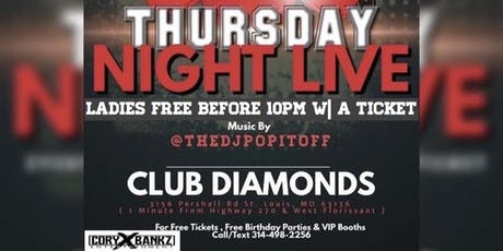 TNL @ Club Diamonds tickets