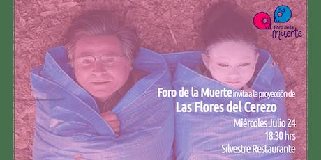 Proyección de Las Flores del Cerezo tickets