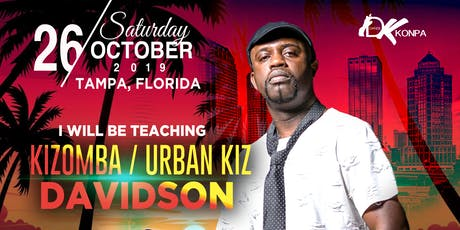 Kizomba & Urban Kiz Workshops tickets