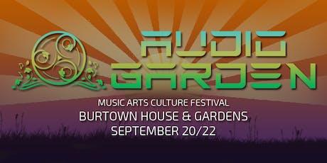 Audio Garden Festival bilhetes