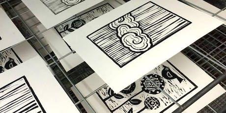 Intro to Linoleum Block Printmaking tickets