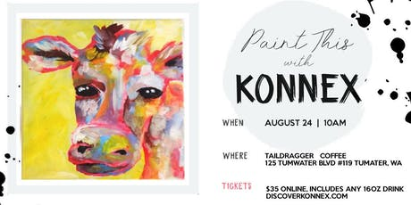 Coffee and Canvas at Taildragger Coffee | Konnex tickets
