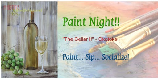 "Martinis & Masterpieces - ""The Cellar II"""