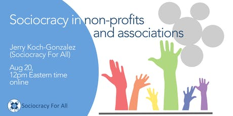 Sociocracy for non-profits and associations tickets