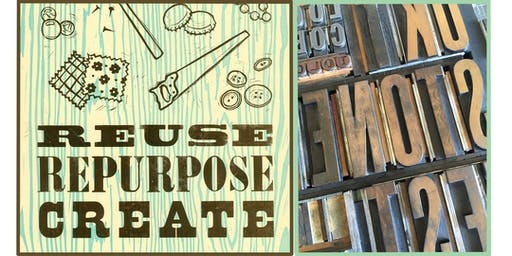 Wood Type Poster Workshop