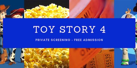 TOY STORY 4 - PRIVATE SCREENING tickets