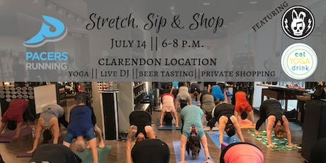 {POP UP} Stretch, Sip & Shop at Pacers tickets