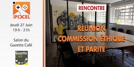 Sud PICCEL - Réunion Commission Éthique et Parité billets