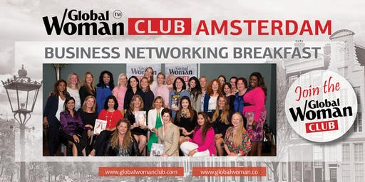 GLOBAL WOMAN CLUB AMSTERDAM: BUSINESS NETWORKING BREAKFAST - OCTOBER