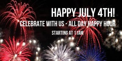 July 4th Happy Hour!