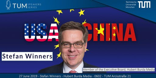 TUM Speakers Series: Stefan Winners (Executive Board Member Burda)