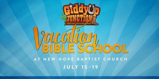 GiddyUp Junction - VBS 2019