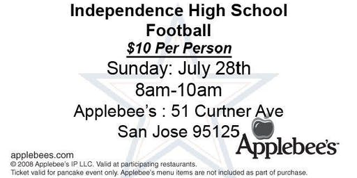 Independence High School  Football: Applebee's Flapjack Fundraiser
