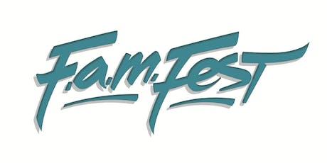 FAM FEST (FLIPSIDE ARTS & MUSIC FESTIVAL) 2019 tickets