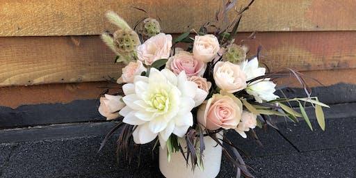 Sip 'n Snip: Summertime Floral Arranging Class