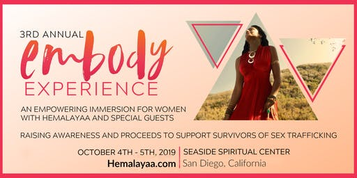 Embody Experience with Hemalayaa, 2-Day Immersion benefiting Survivors of Human Sex Trafficking