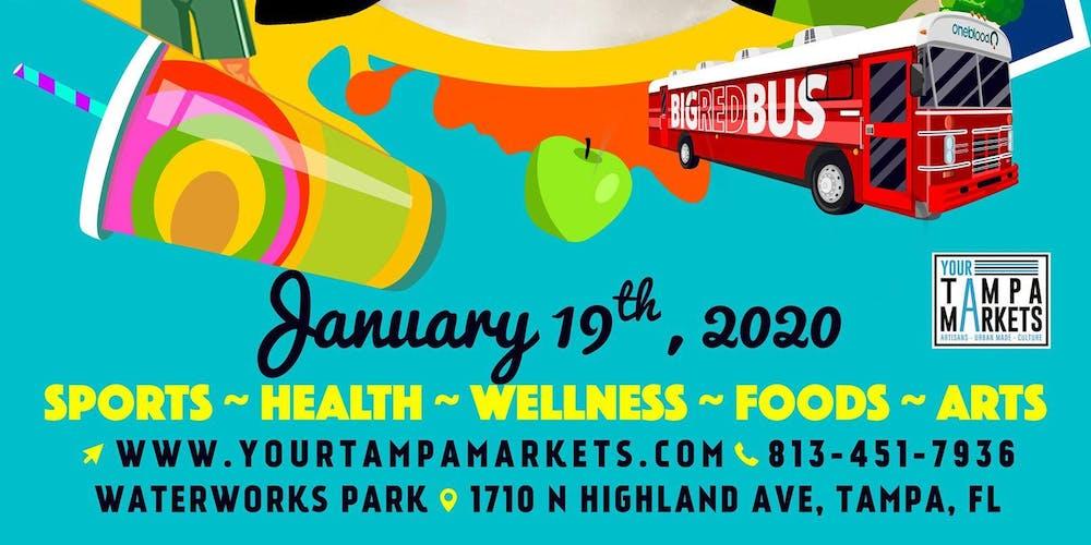 Tampa Music Festival January 16, 2020 Calendar Tampa Riverwalk Fit Festival Tickets, Sun, Jan 19, 2020 at 10:00