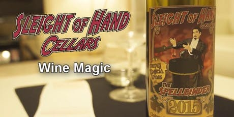 Wine Tasting with Sleight of Hand Cellars tickets