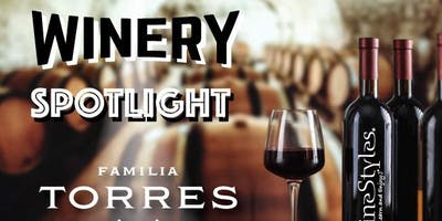 Torres Winery Tasting Event