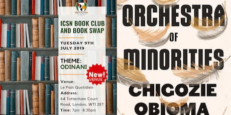 ICSN Book Club - An Orchestra of Minorities by Chigozie Obioma billets