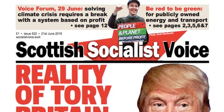 Socialist Solutions to Climate Change | Scottish Socialist Voice Forum tickets
