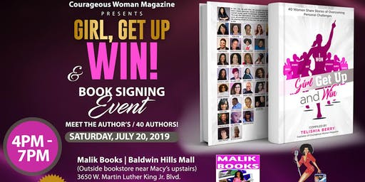 Girl, Get Up and Win Book Signing Event