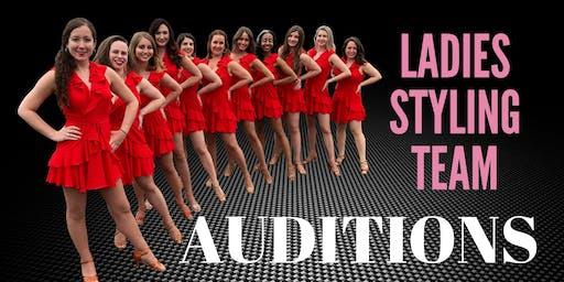 Salseros Ladies Styling Team Audition