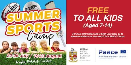 LRF&CC August Multisport Camp tickets