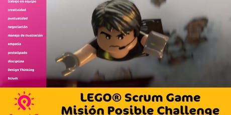 Lego Scrum Game - Misión Posible Challenge boletos