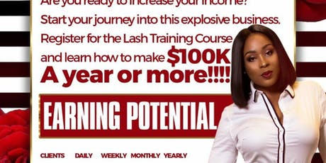 1Day Lash Extension Course by KThompson  tickets