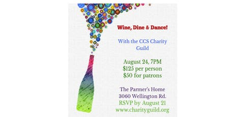 Wine, Dine + Dance with CCS Charity Guild tickets