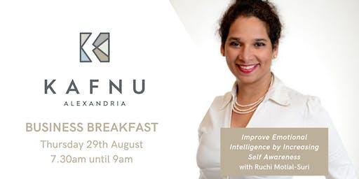 Kafnu Business Breakfast with Ruchi Motial-Suri