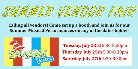 Summer Vendor Fair Application tickets