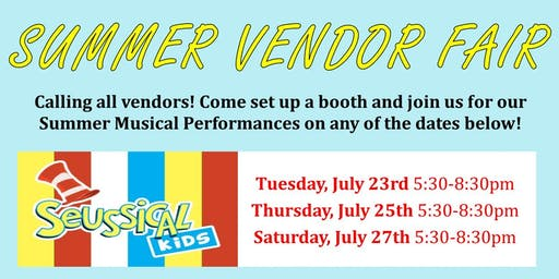 Summer Vendor Fair Application