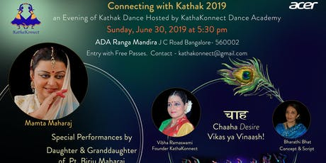 Connecting With Kathak - 2019 tickets