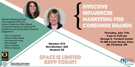 Effective Influencer Marketing for Consumer Brands: Tips for Creating a Killer Program tickets