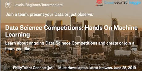 Data Competitions: Hands On Machine Learning  tickets