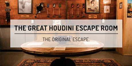 The Houdini Room - Palace Games [Marina] tickets